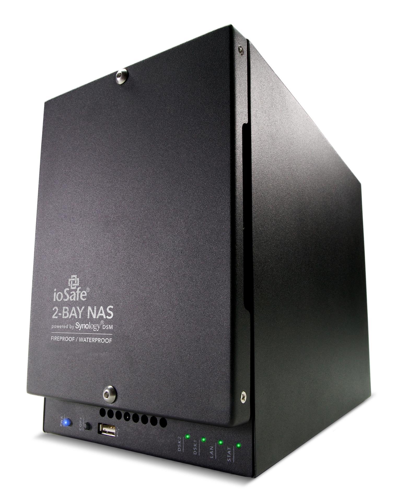 ioSafe NAS 218, 1x Gb LAN (218-DISKLESS)