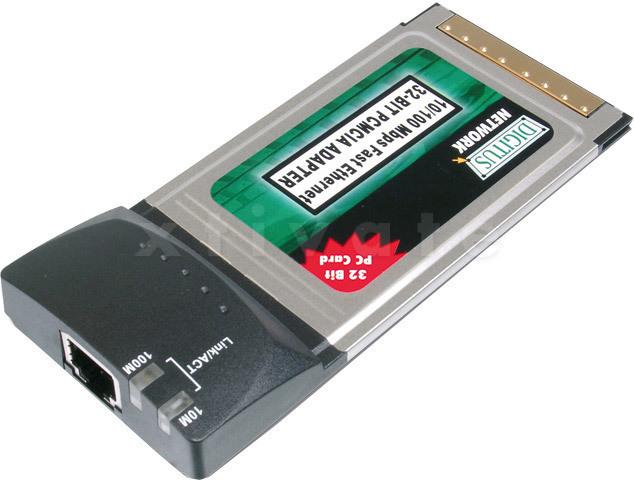 sonstige Netzwerkkarte 10/100 Mbit/s, 32bit PCMCIA