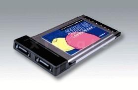 sonstige PCMCIA SATA 150 Controller, 2-Kanal